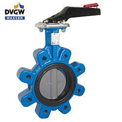 Absperrklappe LUG DN125, PN16, Baulänge EN558-20, GGG-40/EPDM/Edel.1.4408, F07, DVGW-Wasser