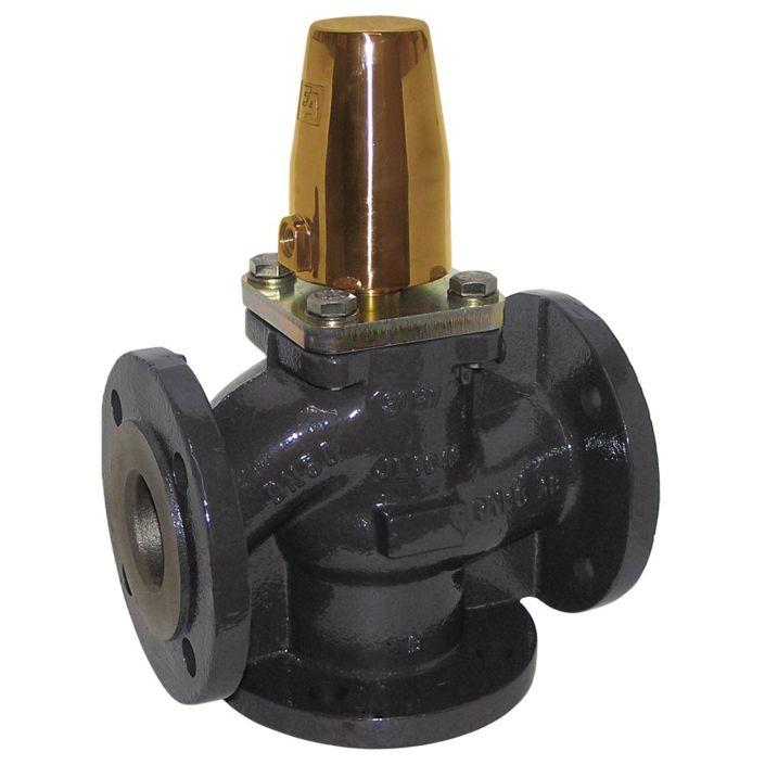3/2-Druckgesteuertes Ventil, DN50, SK80-Ms., GG/NBR-NBR, PN16, Aufteilfunktion