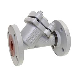 Schmutzfänger DN100, PN16, Feinsieb, GG-25/Edelstahl, Maschenweite 0,25mm