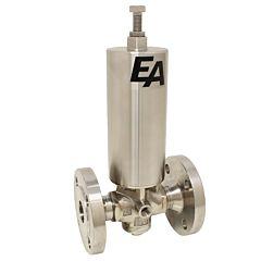 Kolbendruckmin., DN32, Edel./FKM, FL, Tmax.:180°C, Eingangsdruck: max. 25bar, Ausgangsdruck: 1-3.5bar
