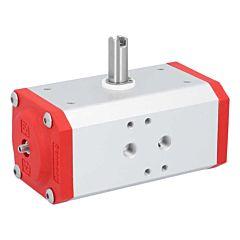 Schwenkantrieb-DW43, DIN, F03/05, 8kt.11, pneumatisch, doppeltwirkend, rechtsdrehend