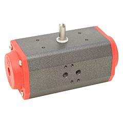 Schwenkantrieb-DW70, DIN, F05/07, 8kt.17, PF, pneumatisch, doppeltwirkend