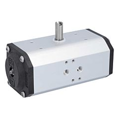 Schwenkantrieb-DW55, DIN, F04, 8kt.14, FKM-Dichtung, doppeltwirkend, bis +140°C