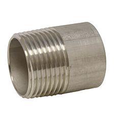 "Anschweißnippel 2"" (DIN2999) - 80mm, Edelstahl 1.4571"