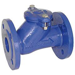 Kugelrückschlagventil DN50 Flansch, 0.2-10bar, GGG-40/Metall-NBR/NBR, Baulänge EN558-1 Reihe 48