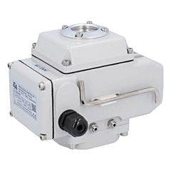 Elektr. Schwenkantrieb, 50Nm, 230V AC, 10W, IP66, LE05, Laufzeit ca. 20sek., Achtkant. 14mm
