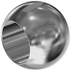 """Kugel-MA, 3/4"""", Edelstahl"""