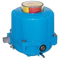Elektrischer Schwenkantrieb, 30Nm, 24V DC, NE03, Laufzeit 12 sek., Achtkant. 11mm - 20mm tief