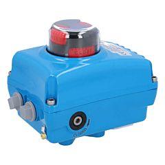 Elektrischer Schwenkantrieb, 50Nm, 230V AC, NE05, Laufzeit 14 sek., Achtkant 14mm
