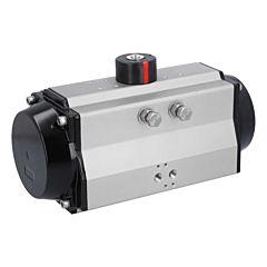 Schwenkantrieb-DW160, DIN, F10/12, 8kt. 27, Pneumatisch/Doppeltwirkend, SIL 3, ATEX