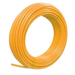 Polyethylenschlauch  6/4, 50m, gelb