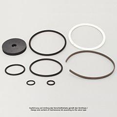 "Verschleißteilset, Kolbendruckmind., G11/4""+11/2"", FKM, Kolbendurchmesser: 63mm"