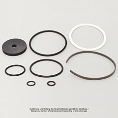 "Verschleißteilset, Kolbendruckmind., G11/4""+11/2"", FKM, Kolbendurchmesser: 80mm"